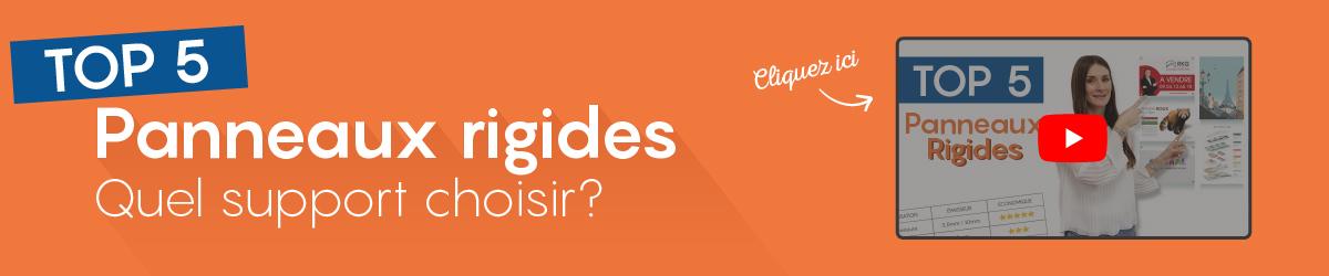 TOP 5 - Panneaux rigides - Quel support choisir ?