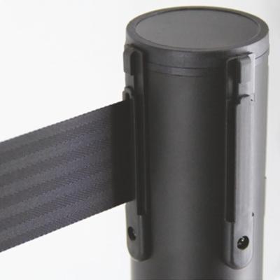 zoom barrière rétractable poteaux ceinture