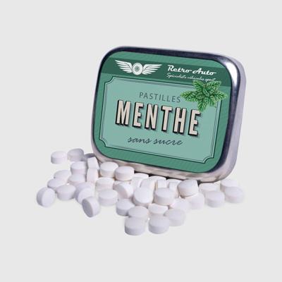 impression boite pastilles menthe