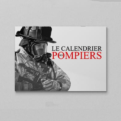 impression calendrier agrafe pompier