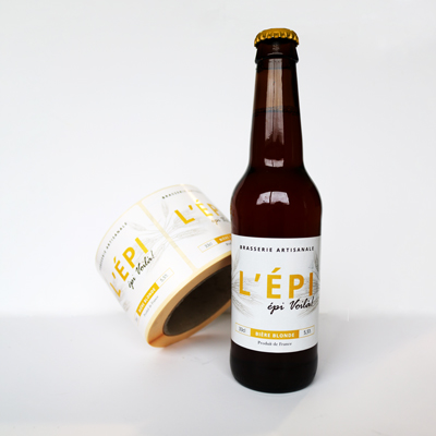 impression etiquette biere