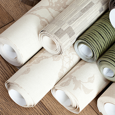 papier peint en rouleau