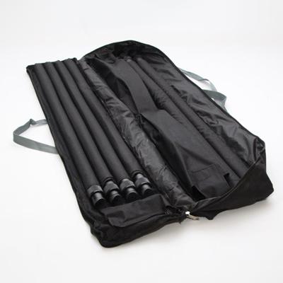 sac de transport ouvert photocall