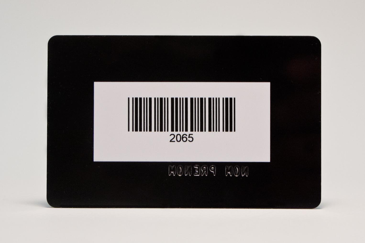 carte pvc rfid code