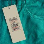 Étiquette vêtement